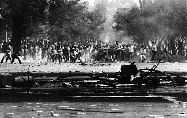 PROTESTAS CONTRA LA DICTADURA