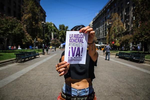 8 DE MARZO:  LA HUELGA FEMINISTA ¡VA!