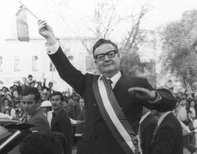 SALVADOR ALLENDE:  4 DE SEPTIEMBRE TRIUNFO ELECTORAL
