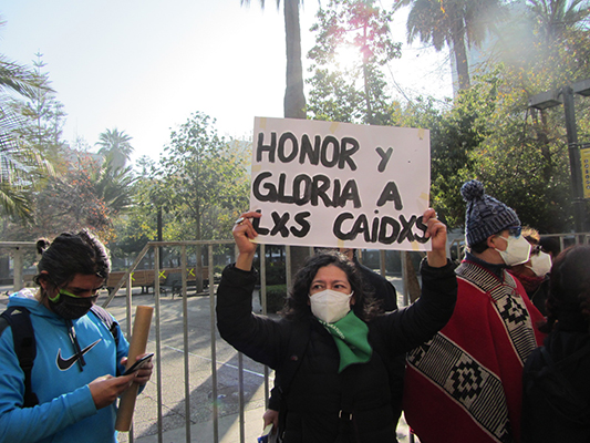 4 DE JULIO: HOMENAJE A LOS CAIDOS