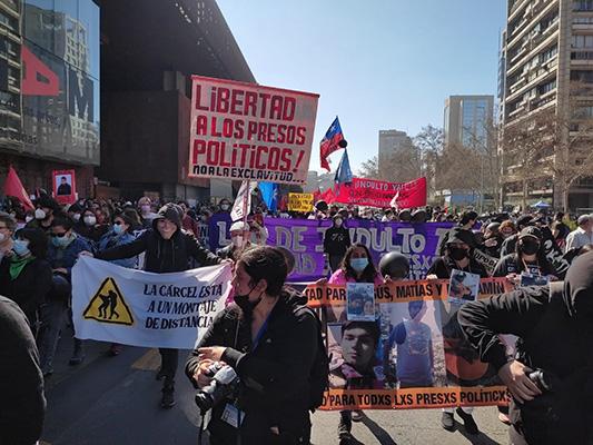 29 DE AGOSTO: LIBERTAD A LOS PRESOS POLÍTICOS